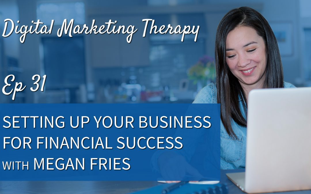 Ep 31 | Setting up your Business for Financial Success with Megan Fries
