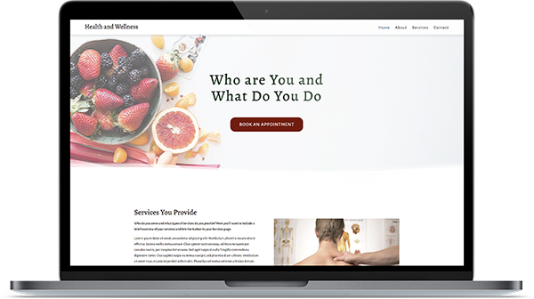 health and wellness templates