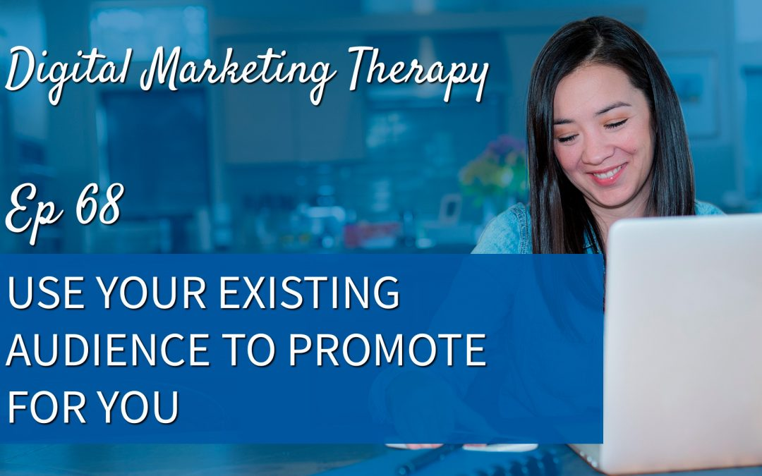 Ep 68   Use your Existing Audience to Promote for You